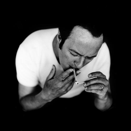 Joe Strummer, schiko, fotoschiko, black and white