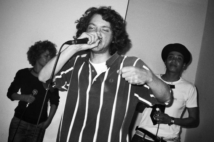 DJ Retrogott, Kurt Hustle, CMone, Fleur Earth