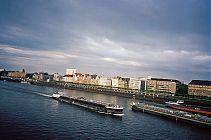 D�sseldorf, Rhein, Perle am Rhein