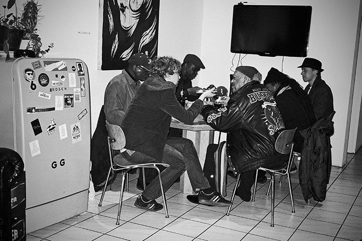 Keno Mescher, Club Bahnhof Ehrenfeld, Roy Ayers