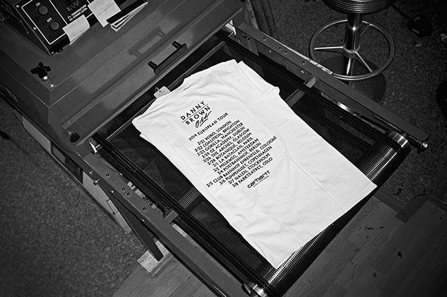 Danny Brown, t-shirt