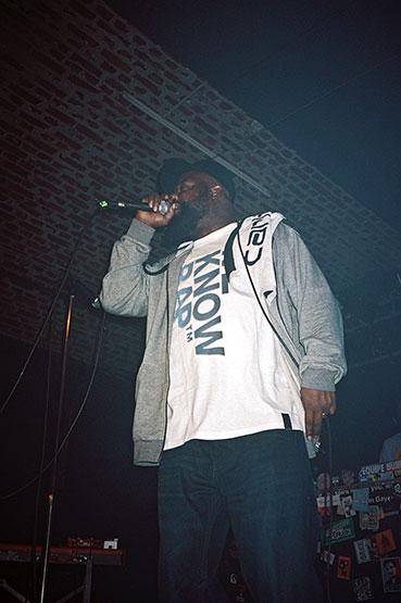 Guilty Simpson, Club Bahnhof Ehrenfeld, CBE, We know Rap, Weknowrap, We Know Rap, I love Wax, Ben*, analog, Contax T3
