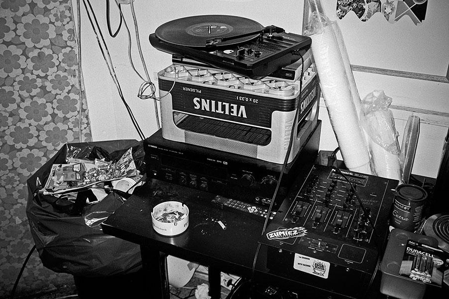 Brause, Metzgerei Schnitzel, analog, s/w, schwarz-weiss, b/w, black and white, Contax T3