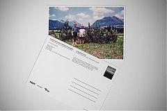 Postkarte, Einladung Ausstellung, Nacht der Museen 2015, Metzgerei Schnitzel e.V., Brause