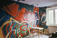 DES, Graffitti, Schiko, FotoSchiko, fotoschiko, Schiko, analog, 1989