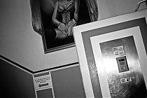 analoge Fotografie, Analogfotografie, Contax T3, Black and white, schwarz-weiss, Puff, Bordell
