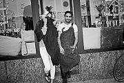 Hairdresser, model, analog, Contax T3, analogfotografie, analogphotography, point and shoot, stay broke shoot film, Kodak TMax400, bw, schwarzweiss, Düsseldorf-Bilk, Düsseldorf