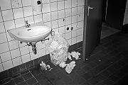 analogphotography, analogfotografie, filmfeed, 35mm, 35mmfilm, contax t3, kodak tmax400, point and shoot, analog, analogfeed, 35mmfeed, filmphotography, analogphotofeed, film is not dead, toilet, restroom, postpost, paper