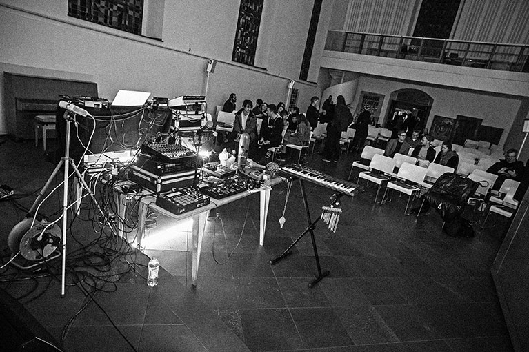 open source festival, berger kirche düsseldorf, Cass., Wolf Müller, OSF, OSF+, black and white, analog workflow,