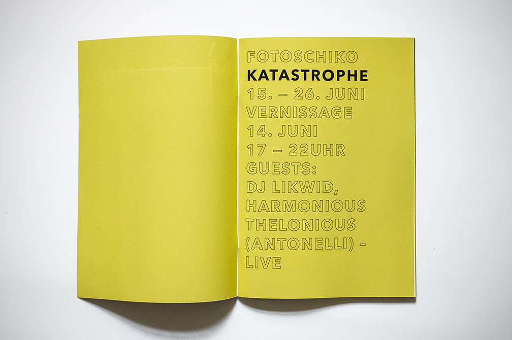 Katastrophe, book, artbook, photobook, fanzine, fotoschiko, kataloge, analogphotography, analogfotografie, kompaktkamera, compactcamera, exhibition, photoexhibition