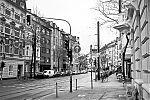 Bilker Allee, covid 19, Düsseldorf, analog, analogfotografie, analogphotography, Kodak Tmax 400, Leica, Leica minilux, sw, bw