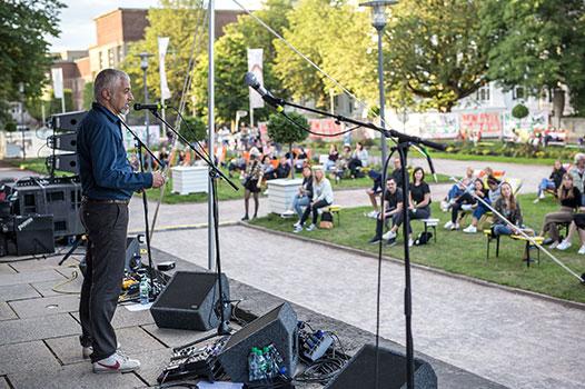 New Fall Festival, Festival, Düsseldorf, NRW Forum, Ehrenhof, Summer Edition, Asphalt Festival