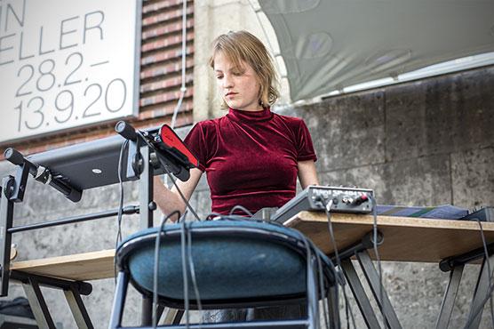 New Fall Festival, Festival, Düsseldorf, NRW Forum, Ehrenhof, Summer Edition, Sofia Portanet, Sofia Portanet