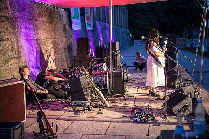 New Fall Festival, Festival, Düsseldorf, NRW Forum, Ehrenhof, Summer Edition, Sofia Portanet Ilgen Nur