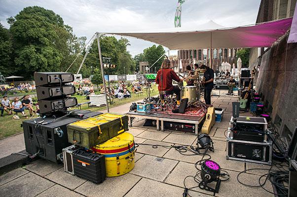 New Fall Festival, Festival, Düsseldorf, NRW Forum, Ehrenhof, Summer Edition, Rikas