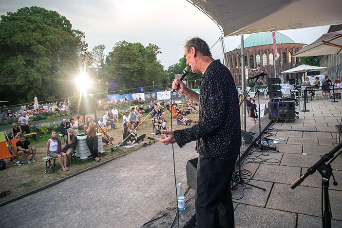 New Fall Festival, Festival, Düsseldorf, NRW Forum, Ehrenhof, Summer Edition, Klaus Fiehe