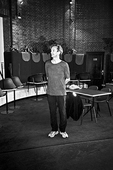 Hauschka, New Fall Festival, Festival, Düsseldorf, NRW Forum, Ehrenhof, Summer Edition, Analogfotografie, analogphotography, Olympus mju 2, point and shoot, stay broke shoot film, 35mm, on film black and white,