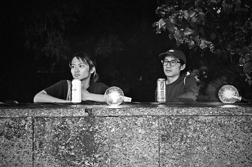 New Fall Festival, Festival, Düsseldorf, NRW Forum, Ehrenhof, Summer Edition, Analogfotografie, analogphotography, Olympus mju 2, point and shoot, stay broke shoot film, 35mm, on film black and white,