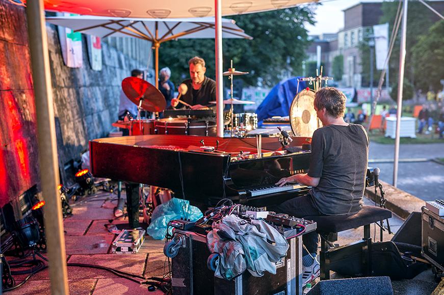 New Fall Festival, Festival, Düsseldorf, NRW Forum, Ehrenhof, Summer Edition, Hauschka, Kai Angermann