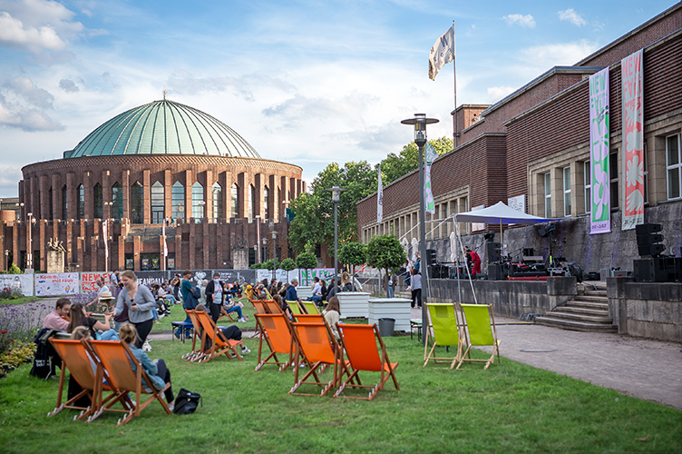 New Fall Festival, Festival, Düsseldorf, NRW Forum, Ehrenhof, Summer Edition, Tonhalle
