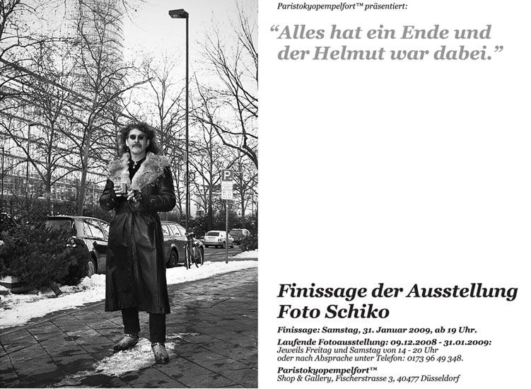 Helmut, schiko, fotoschiko, black and white