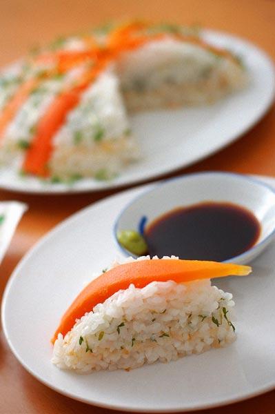 Sushi Torte, Sushi cake,